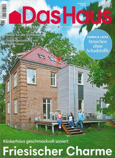 das haus abo zeitschrift das haus aus der rubrik haus. Black Bedroom Furniture Sets. Home Design Ideas