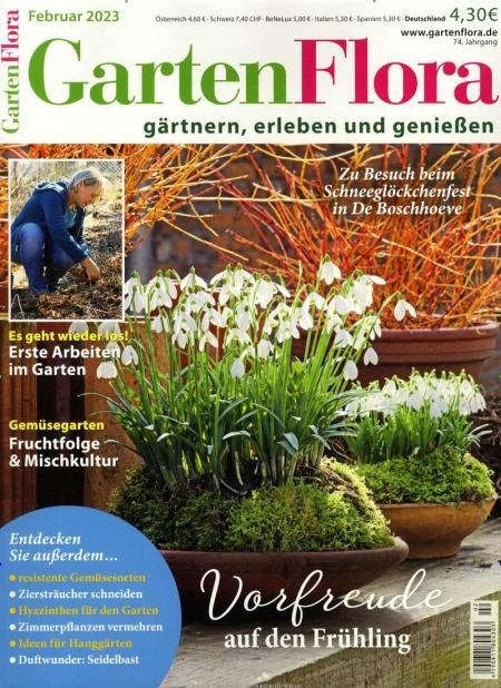 Ihre zeitschrift im abo alle zeitschriften aus der rubrik haus wohnen garten im abonnement for Zeitschrift gartenflora