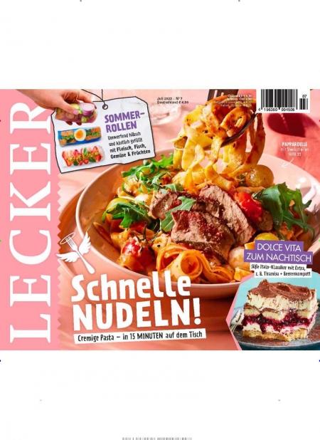 Lecker Zeitschrift Abo ihre zeitschrift im abo alle zeitschriften aus der rubrik essen